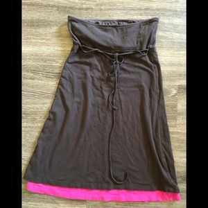 Victoria's Secret swim cover up bra top!